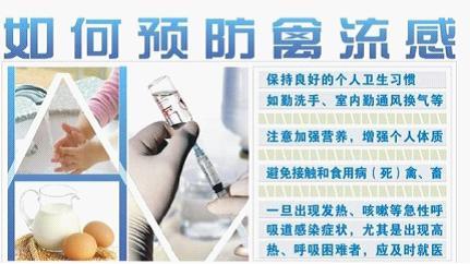 牛皮癣患者如何预防H7N9禽流感